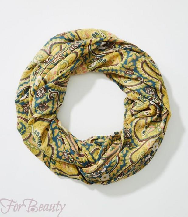 Модные шарфы 2018 женские фото