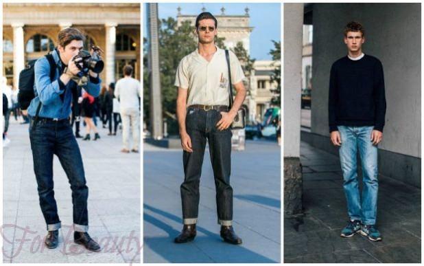 Свободные мужские джинсы 2018
