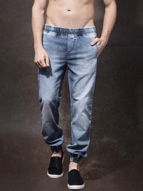 Свободные мужские джинсы фото
