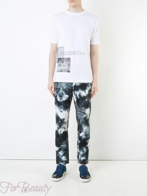 Модные мужские джинсы в стилегранж2018