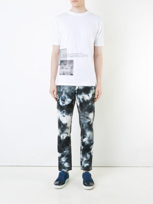 Модные мужские джинсы в стилегранж