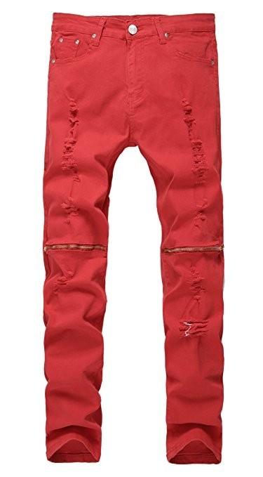 Мужские конические джинсы фото