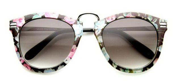 очки с узорчатой оправой фото