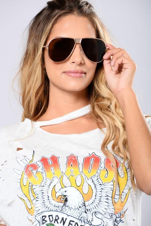стильные очки авиаторы женские