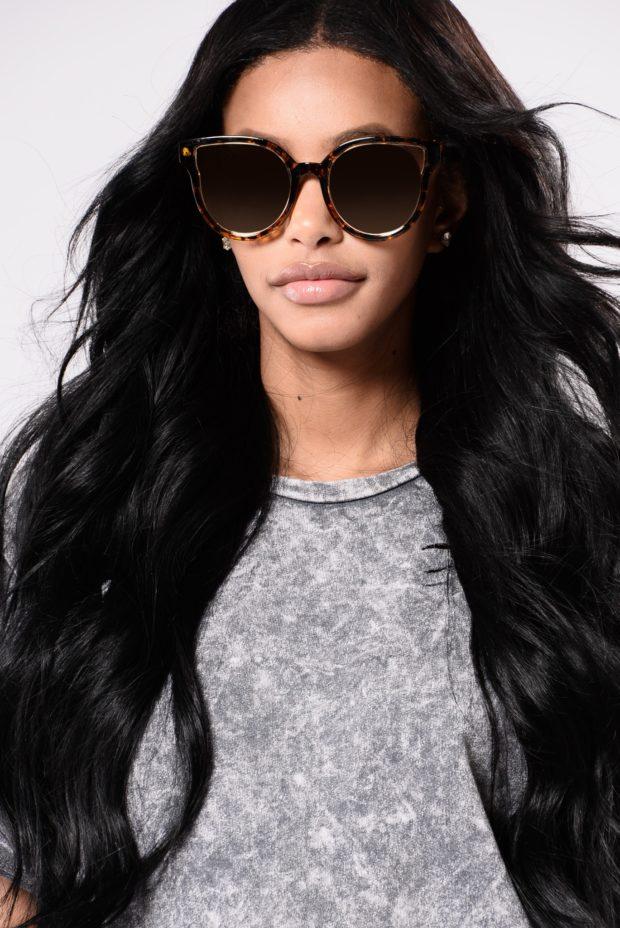 Модные очки кошачий глаз фото женские