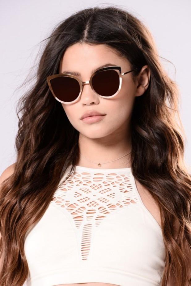 стильные очки кошачий глаз фото женские