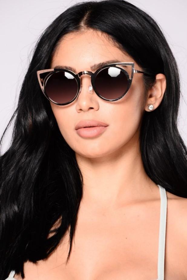 красивые очки кошачий глаз фото женские