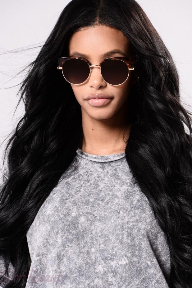 стильные женские очки с круглой оправой