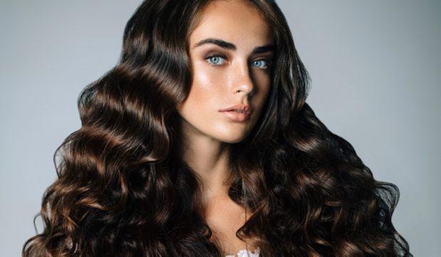 глубокий коричневый оттенок волос