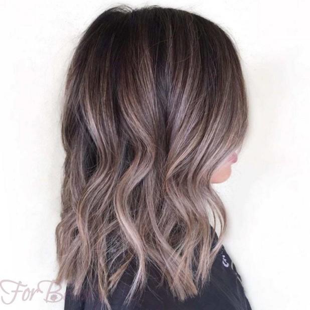 Модный оттенок волосомбре2018