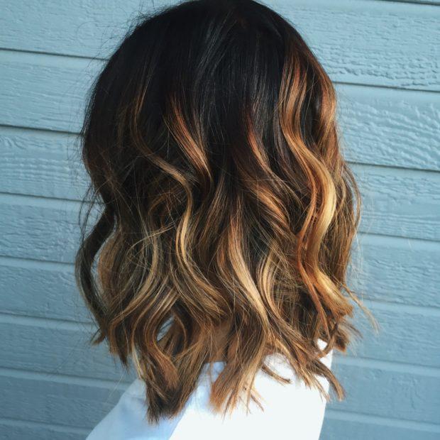 золотисто-русый оттенок волосградиент