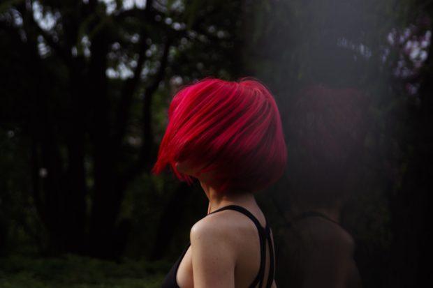 Модные красные оттенки фото