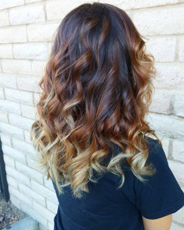 Модный оттенок волосомбре