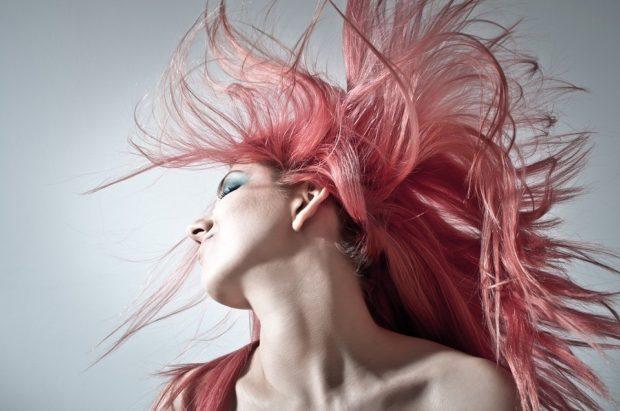 розовые оттенки волос