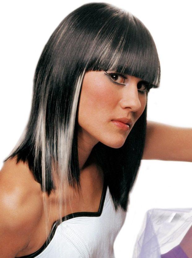 серые оттенки волос фото