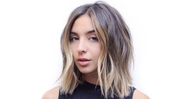 светлый оттенок волос с переходом