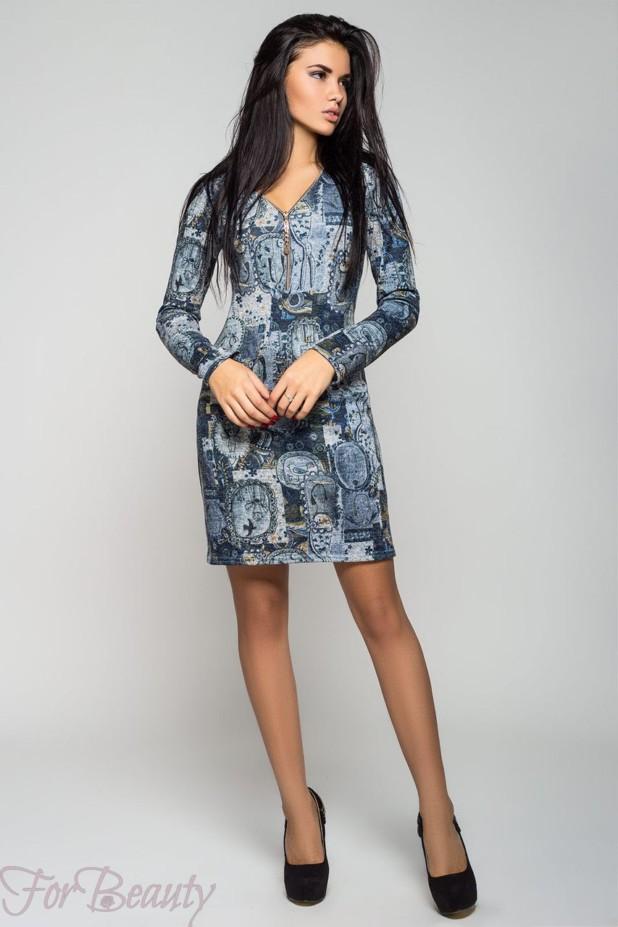 Модный абстрактныйпринт2018 в одежде