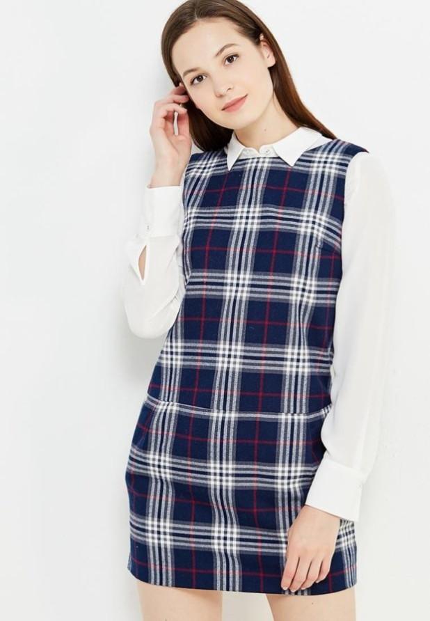 Модныйпринтв клетку 2018-2019 в одежде