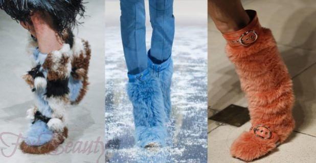 Модные сапоги осень зима 2018-2019 фото женские