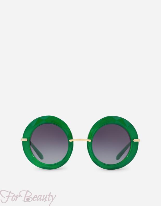 зеленые солнцезащитные очки 2018