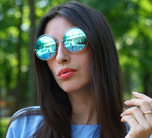 Зеркальные солнцезащитные очки 2018-2019