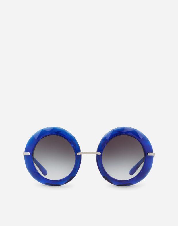 синие солнцезащитные очки 2018-2019