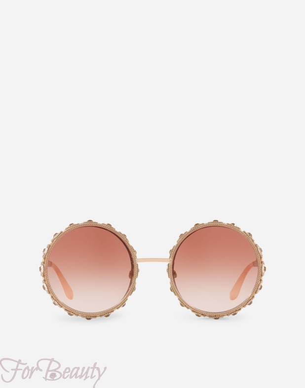 Солнцезащитные очки с круглой оправой 2018
