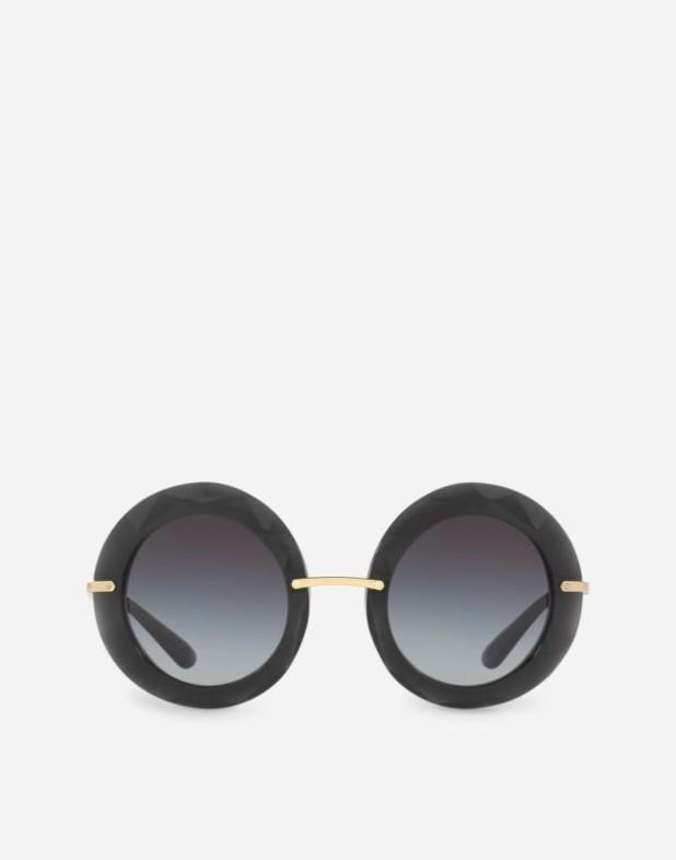 черные солнцезащитные очки 2018-2019
