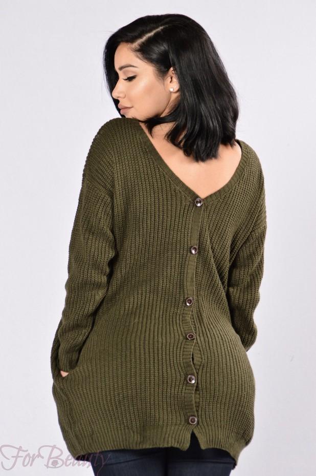 Модные женские свитера осень-зима 2019-2020 фото картинки