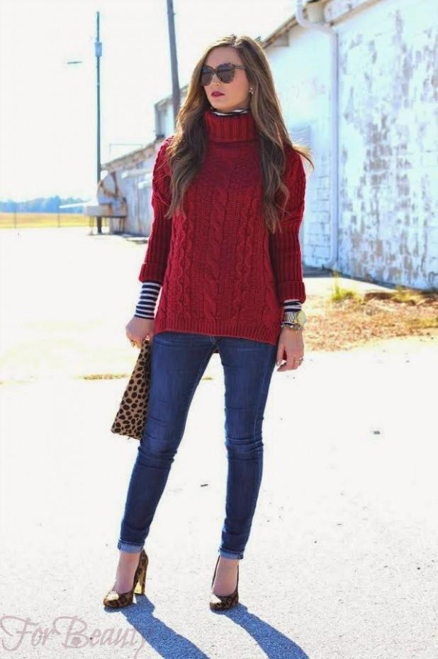 модные осенние свитера