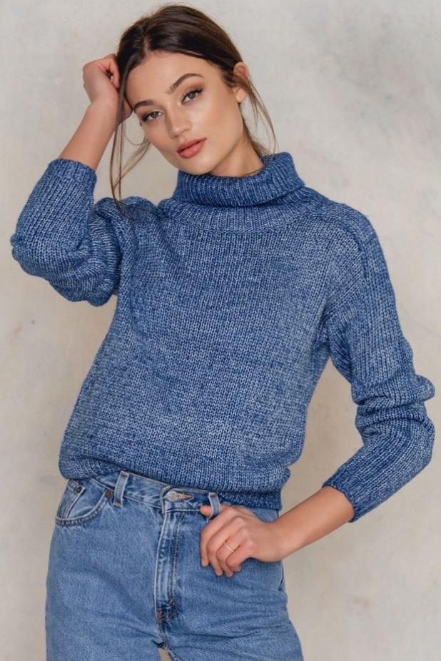 Модные свитера с высоким горлом осень-зима 2018 2019 женские