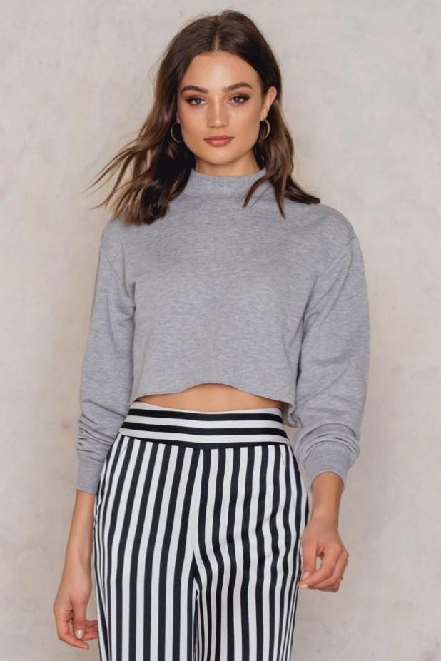 Модные короткие свитера осень-зима 2018 2019 женские фото