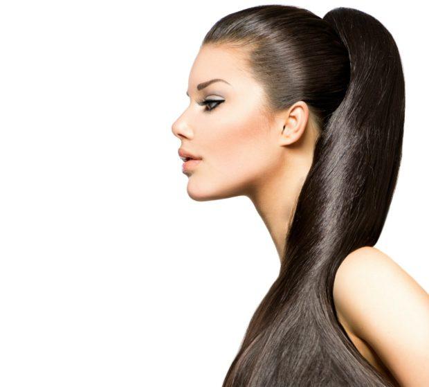 Модная укладка волос с хвостом 2020