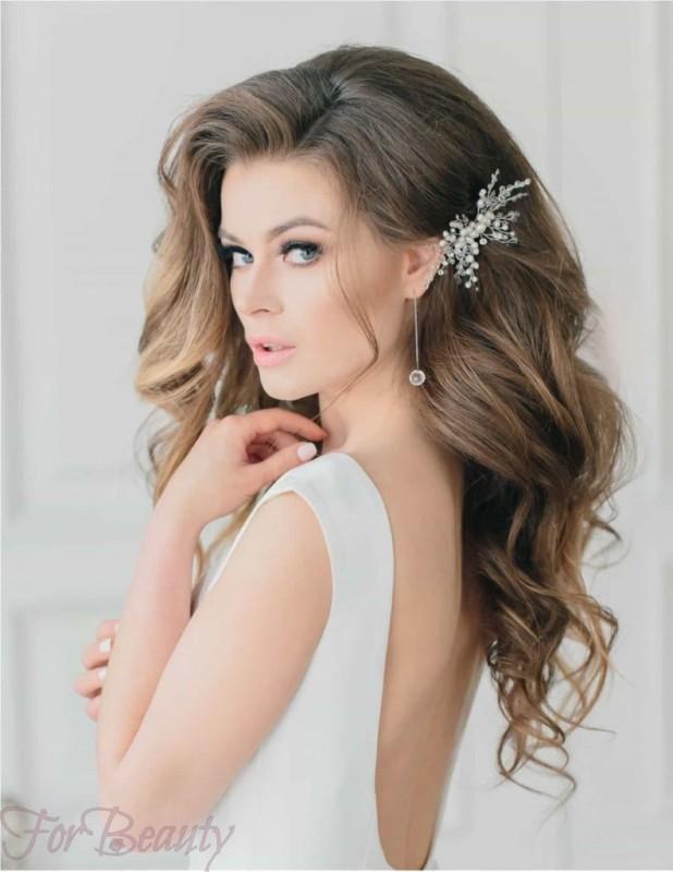 Укладка волос с аксессуарами 2018