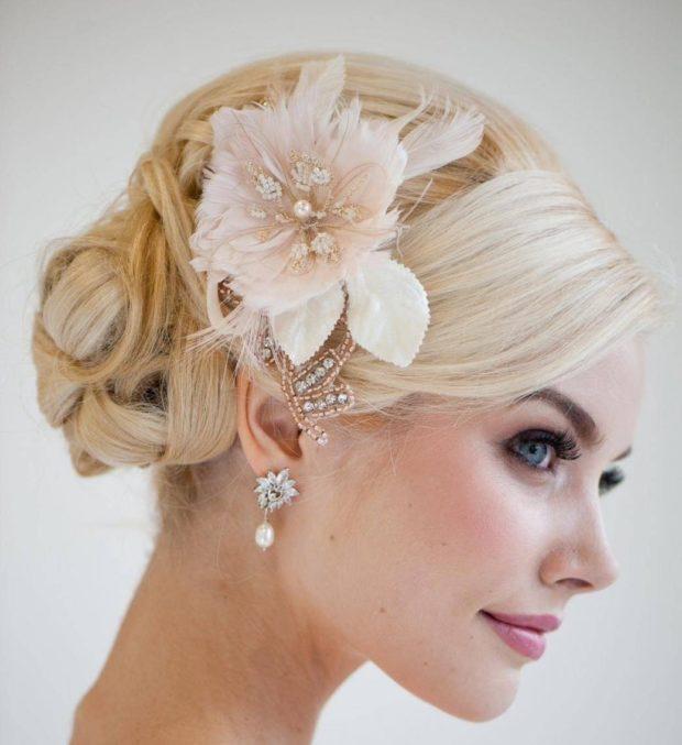 Свадебная укладка волос 2018-2019