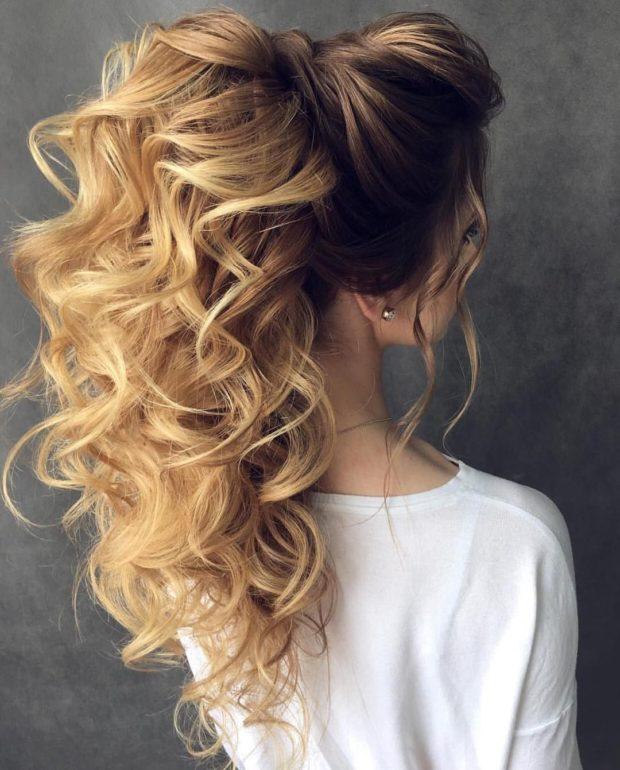 Укладки волос 2021