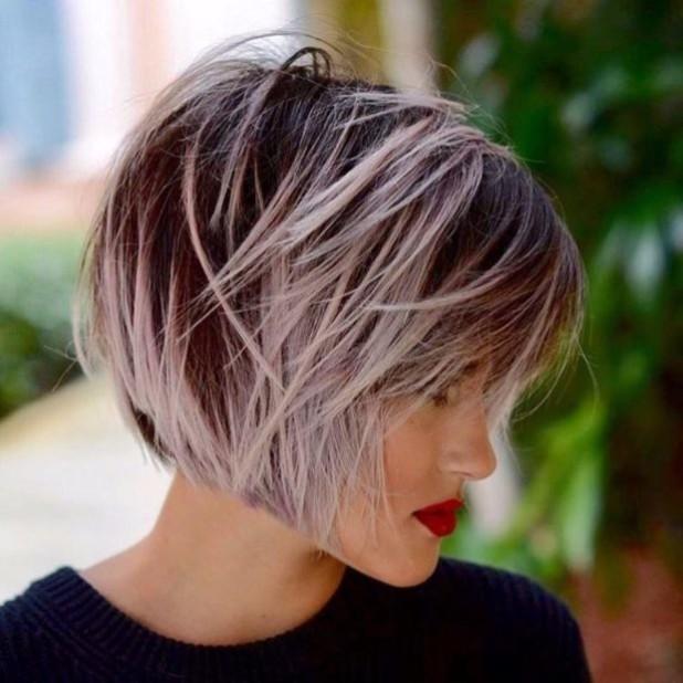 Укладка волос для стрижки боб каре 2018-2019