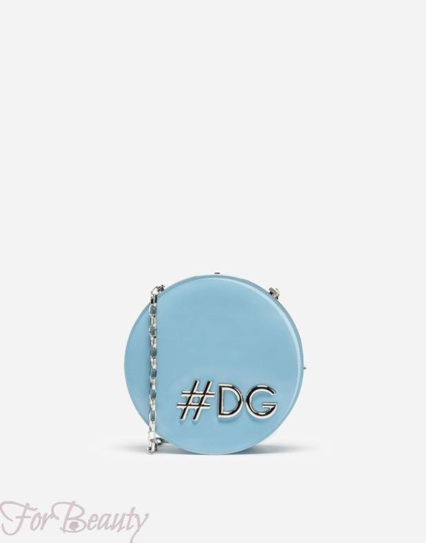 Модная голубая сумка 2018 женская