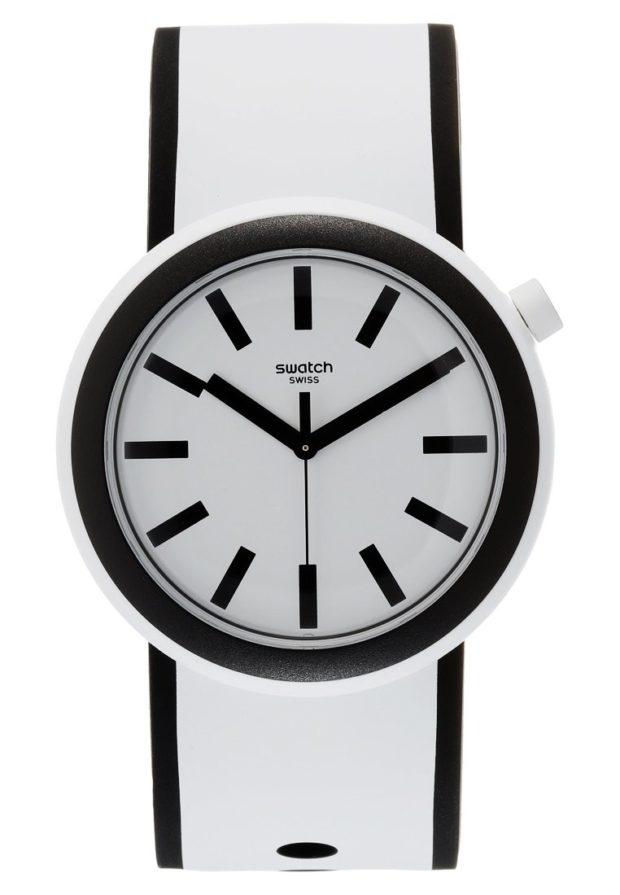 женские модные часы белый ремешок