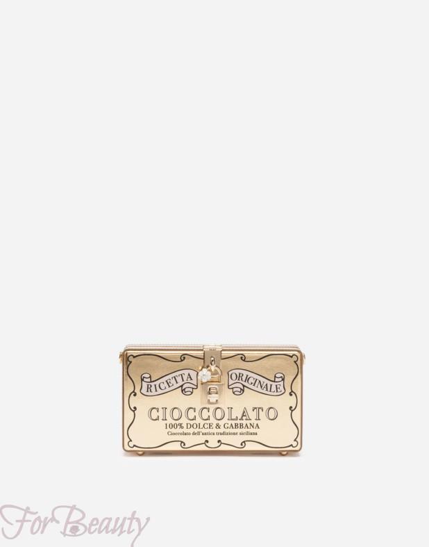 Модная золотая сумка 2018 женская