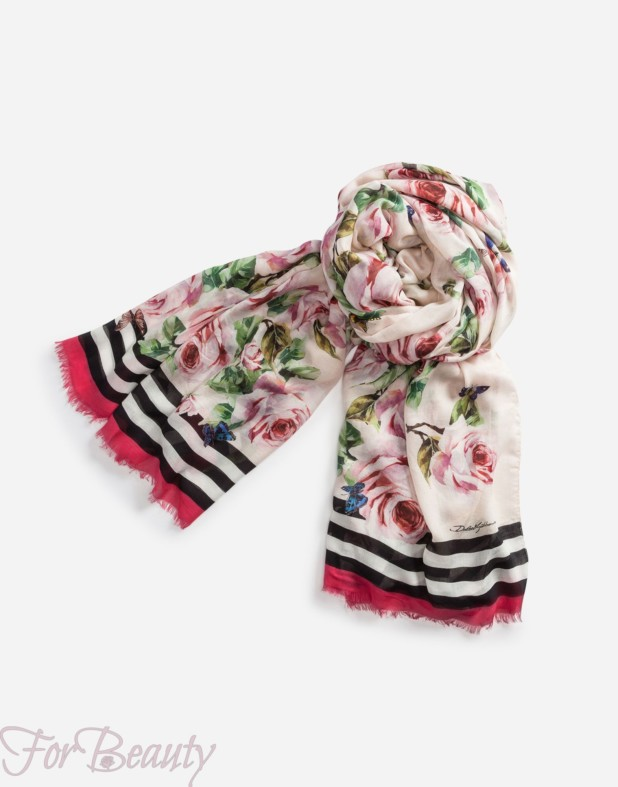Модные шарфы 2018 женские