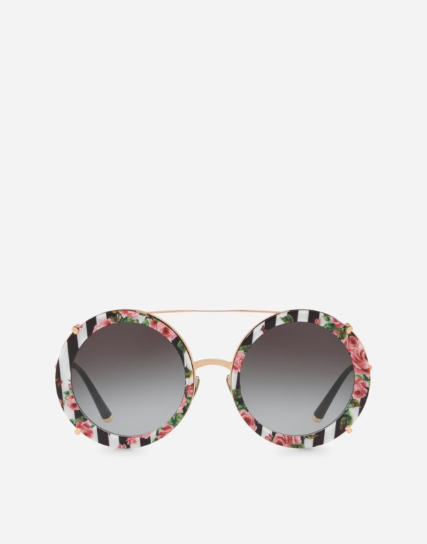 очки с принтом