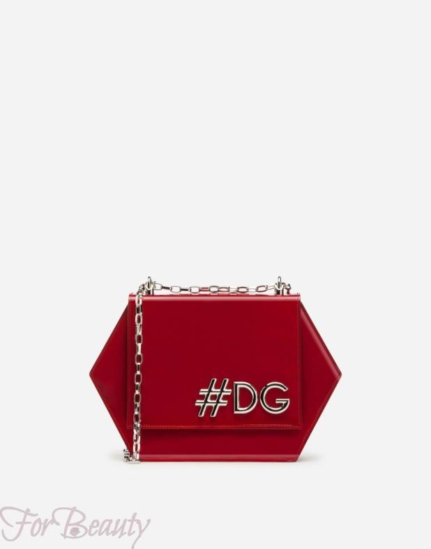 Модная красная сумка 2018 женская