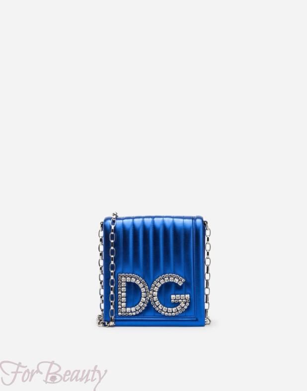 Модная синяя сумка 2018 женская