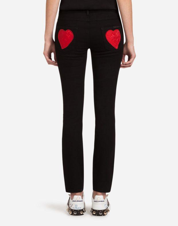 женские джинсы 2019-2020: черные