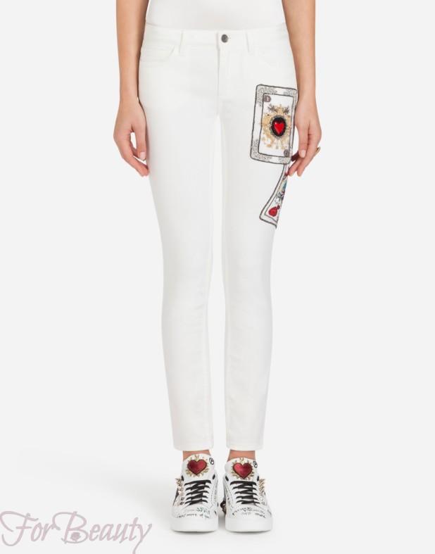 Модные женские джинсы 2018 года