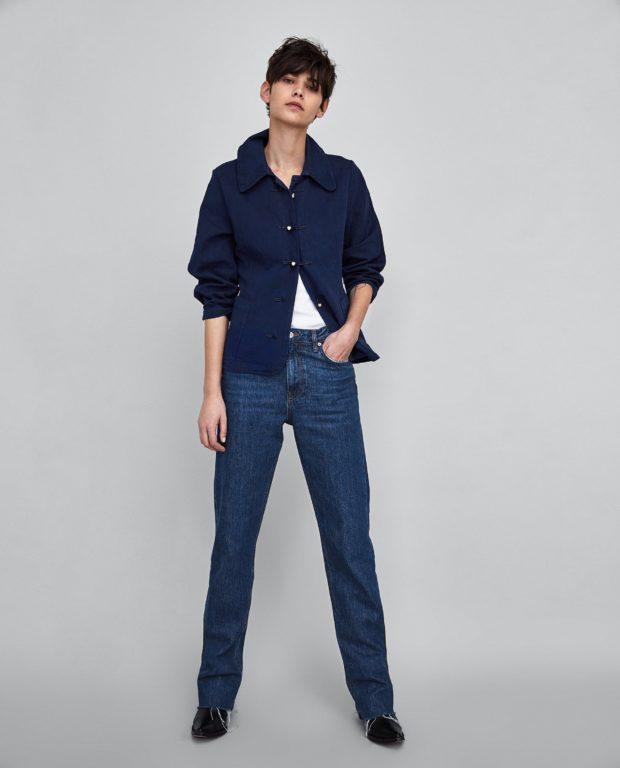 стильные женские джинсы: классические прямые