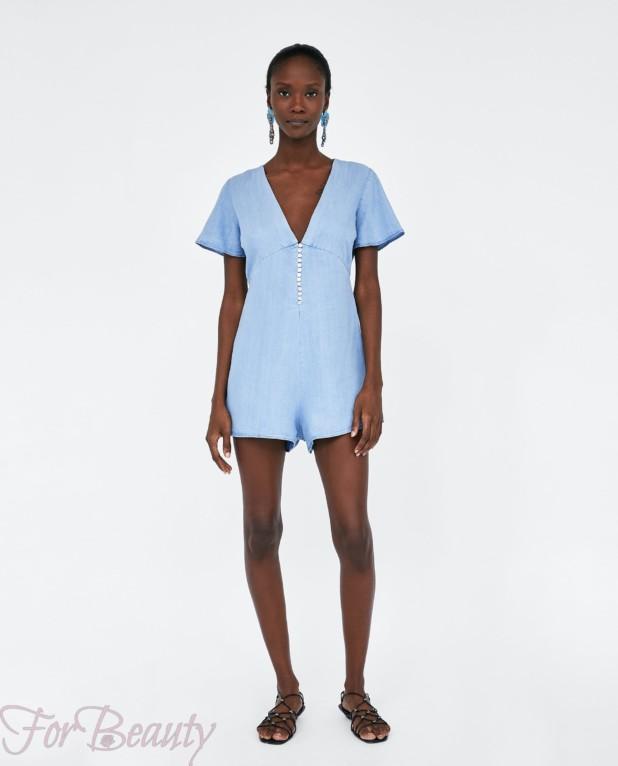 Модные женские комбинезоны 2018