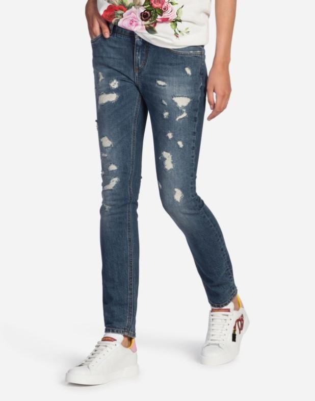 женские джинсы 2019-2020 года