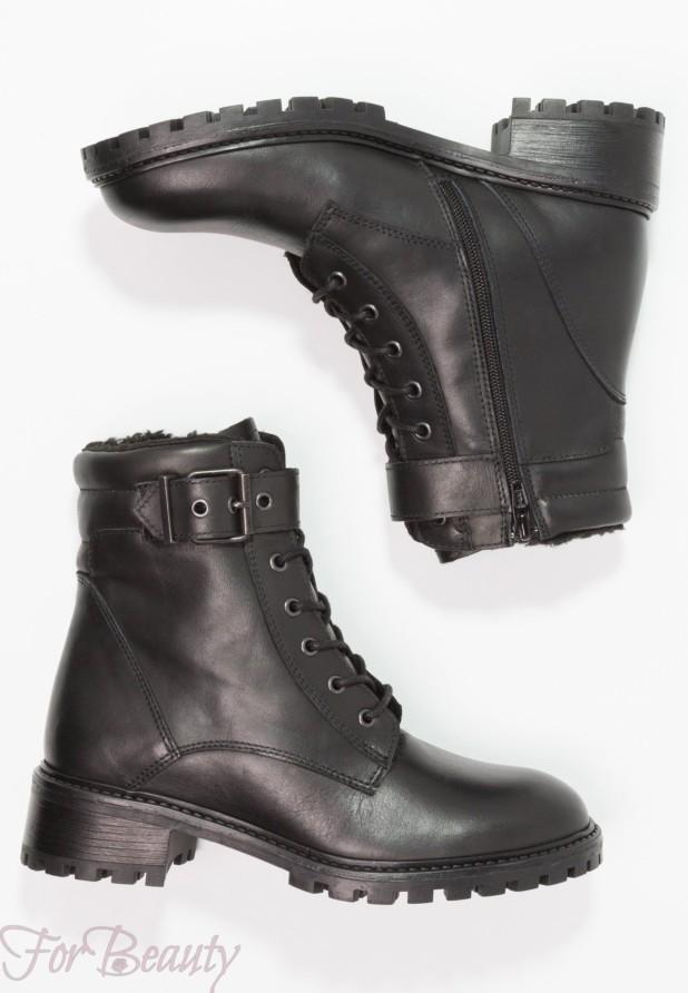 Модные черные женские сапоги осень зима 2018 2019
